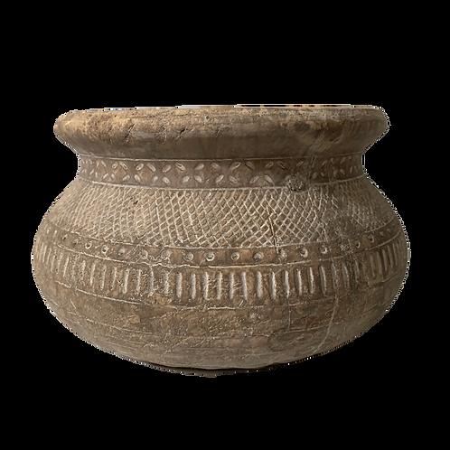 Marcello - Ceramic Antique Brown Pot