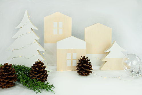 Nordic Winter Village