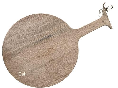 Oak -Round Large Charcuterie Board