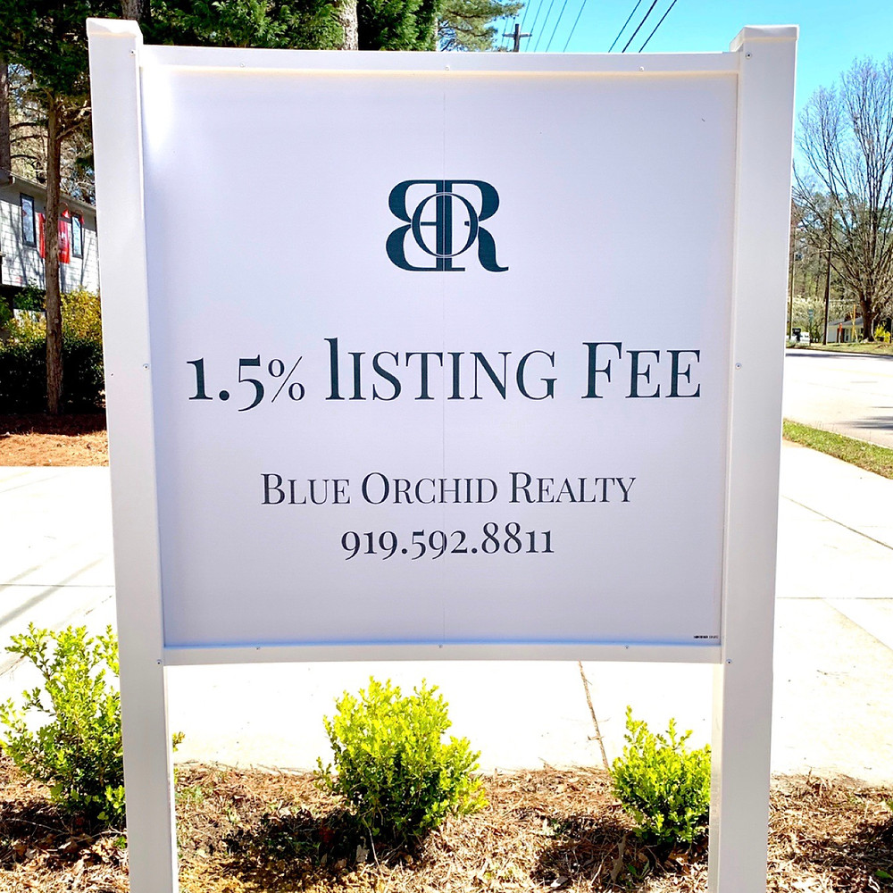 BLUE ORCHID REALY FLAT LISTING FEE COMMISSION