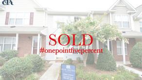 104 Tannenbaum Circle, Greensboro. Sold $103,500