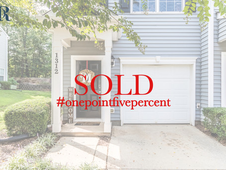 1312 Holly Grove Way, Durham. Sold $181,000