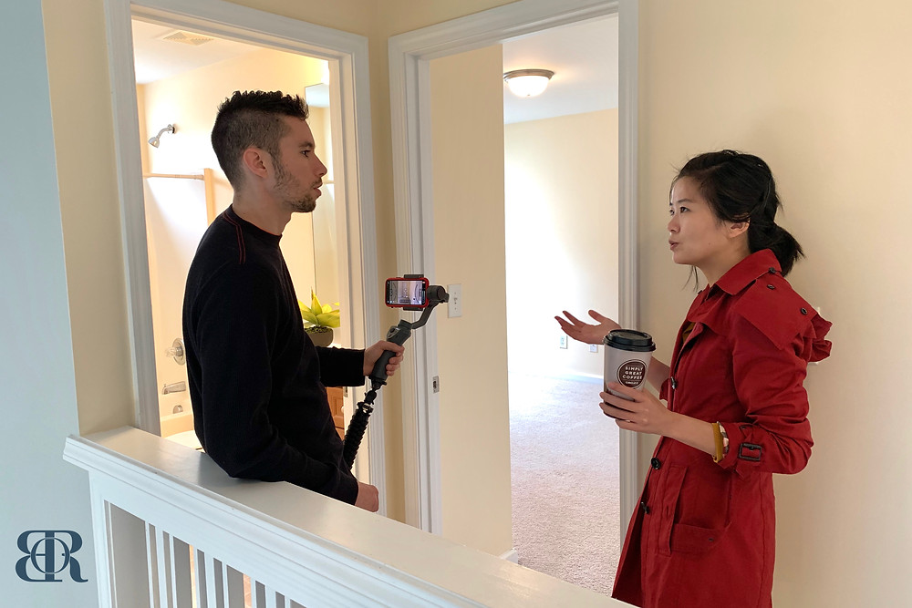 Carlos Smith and Emme Zheng | Intended Vision | Blue Orchid Realty | Raleigh Durham Triangle Area NC North Carolina