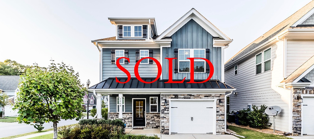 Raleigh North Carolina home sold. Blue Orchid Realty listing by Emme Zheng. NC Realtors.