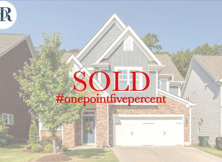 2828 Bogle Branch Court. Raleigh. Sold $385,000