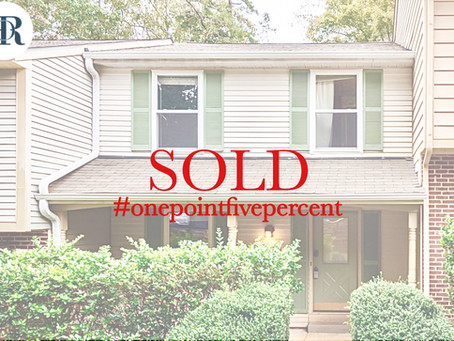 1910 Fox Sterling Drive. Raleigh. Sold $187,000