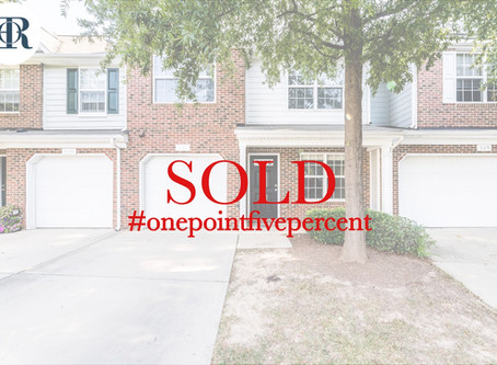 507 Ringleaf Court, Cary. Sold $235,000