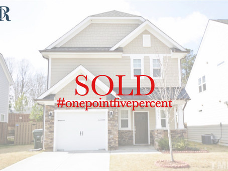 2804 Bogle Branch Ct, Raleigh. Sold $360,000