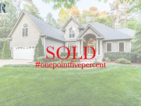 5100 Roseland Court, Raleigh. Sold $619,000