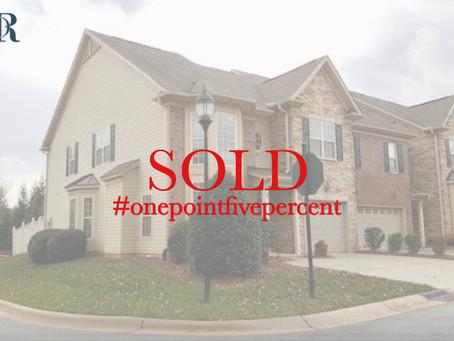 1 Saint Christopher Square, Greensboro. Sold $224,500