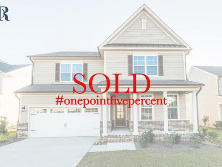 129 Morgan Ridge Road, Holly Springs. Sold $387,000
