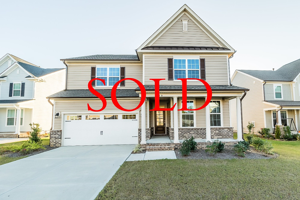 Holly Springs North Carolina home sold. Blue Orchid Realty listing by Emme Zheng. NC Realtors.