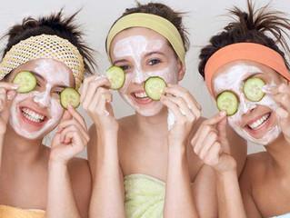 Какие маски для лица использовать в бане