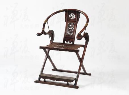 賞古雅致|明清家具|黃花梨 交椅