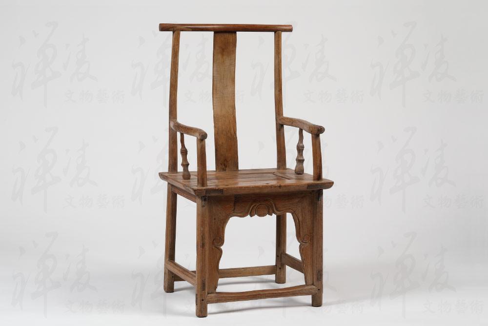明 - 黃花梨四出頭北官帽椅 - 98 x52 x42cm - 禪凌文物藝術 藏