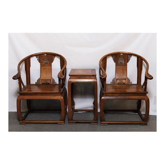 皇宮椅三件套