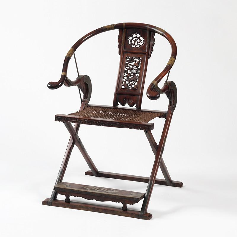 黃花梨家-交椅  (獵椅)