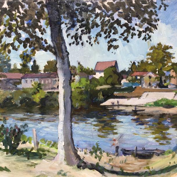 The Dordogne at Saint Aulaye