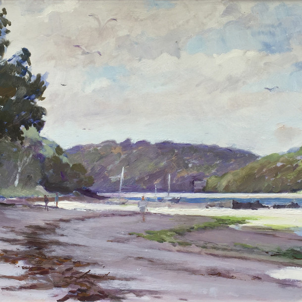 The River Erme, Mothecombe