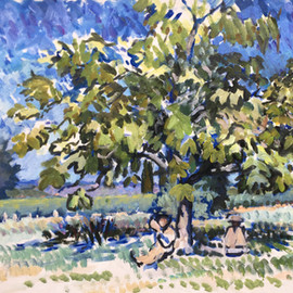 Under the Bean Tree
