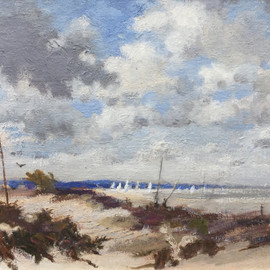 From Studland 25 x 35