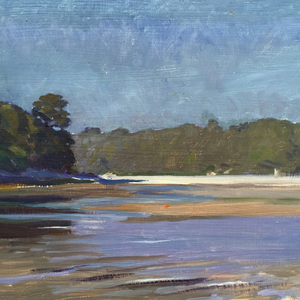 The River Erme, Late Afternoon