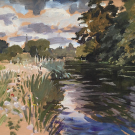 The River Avon at Salisbury