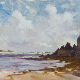 Seascape at Mothecombe