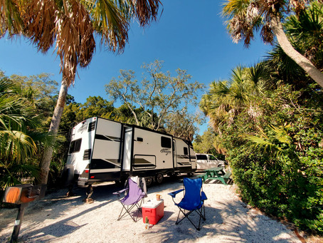 A&A Spend A Week RV Camping At Fort Desoto | Island Life