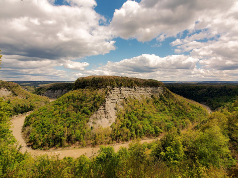 A&A Travel Review Of Upstate New York; Letchworth State Park & Niagara Falls