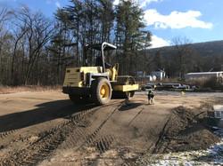 Roller Preparing a foundation