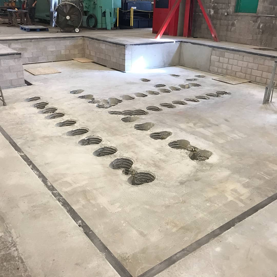 Equipment Pad Construction