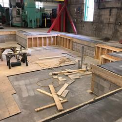 Equipment Pad Construction