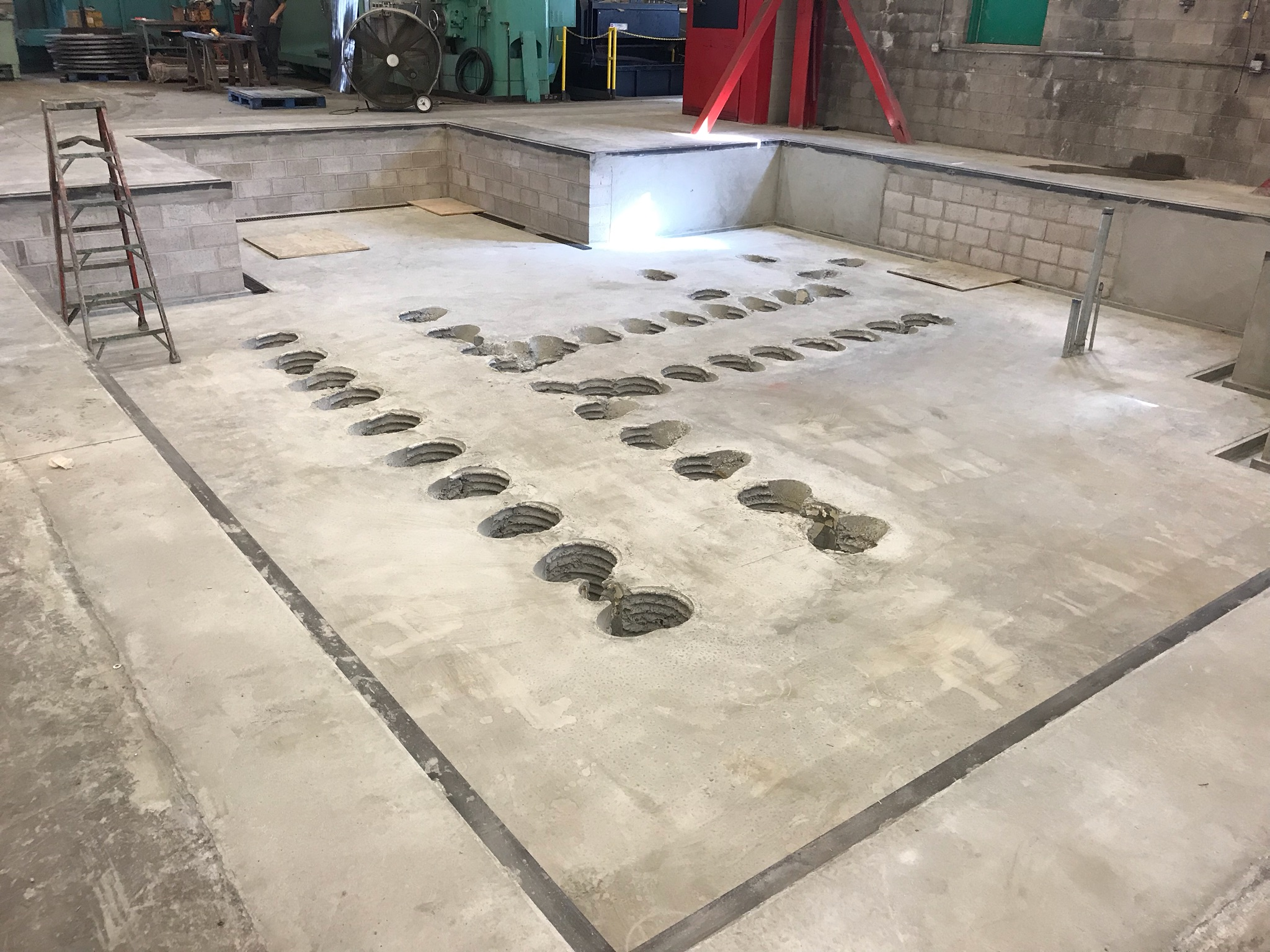 Equipment Pad
