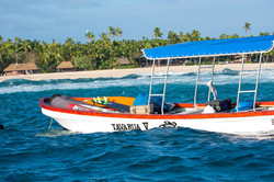 Tavarua boat
