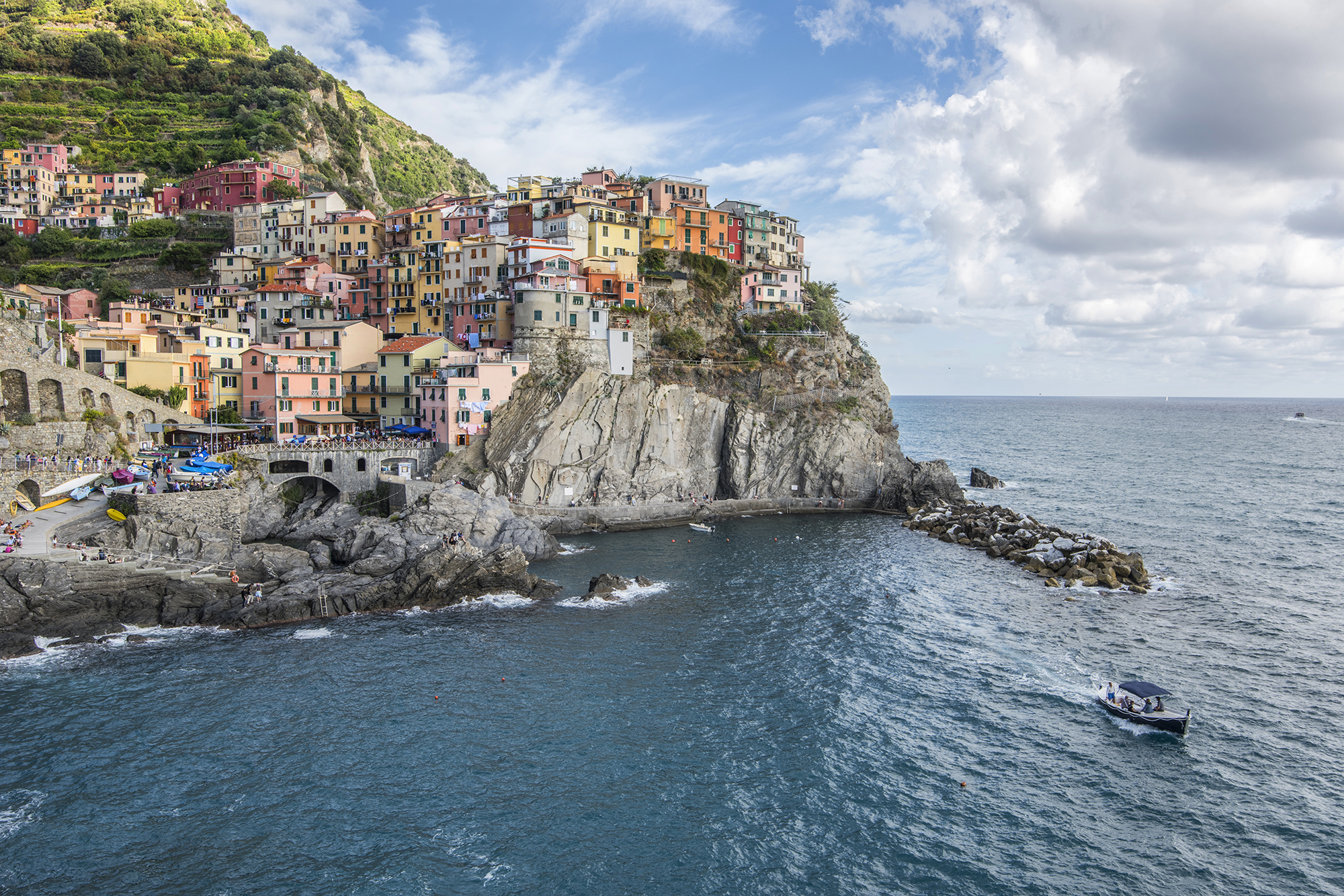 manarola day time