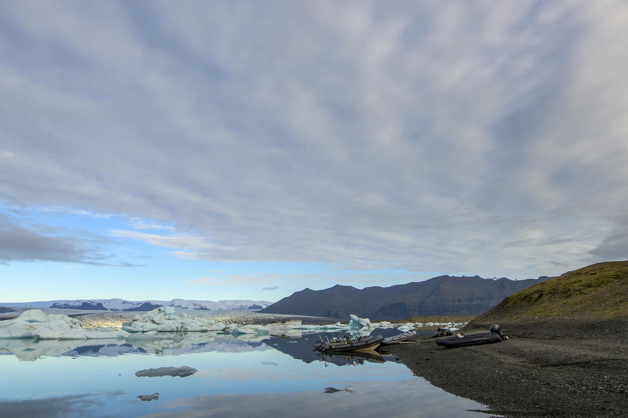 jokulsarlon glacier dingys