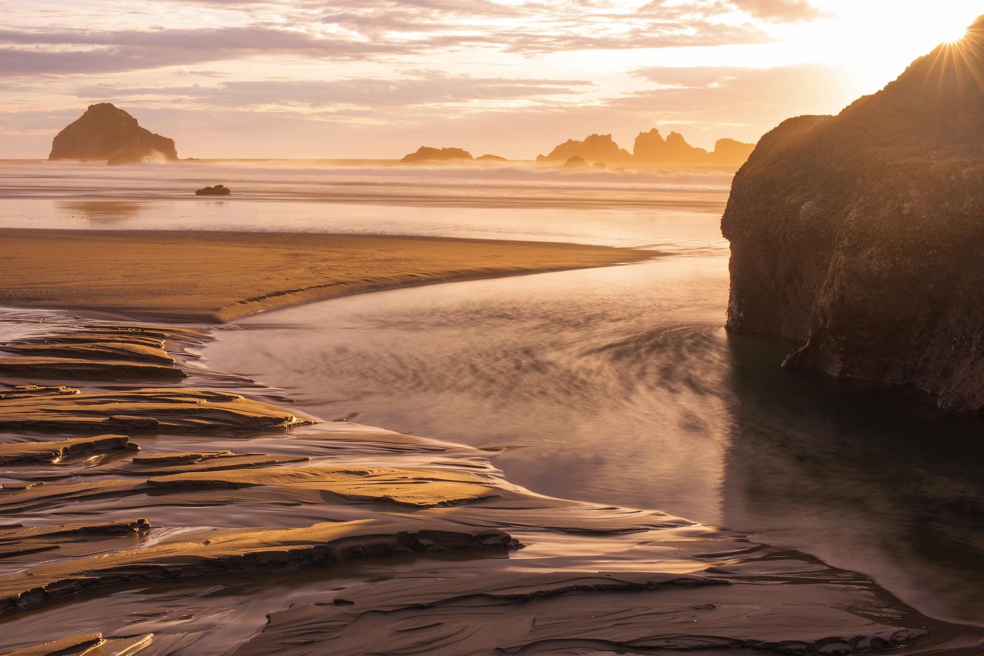Bandon Beach Sunburst