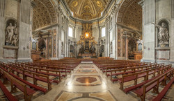 basilica pews