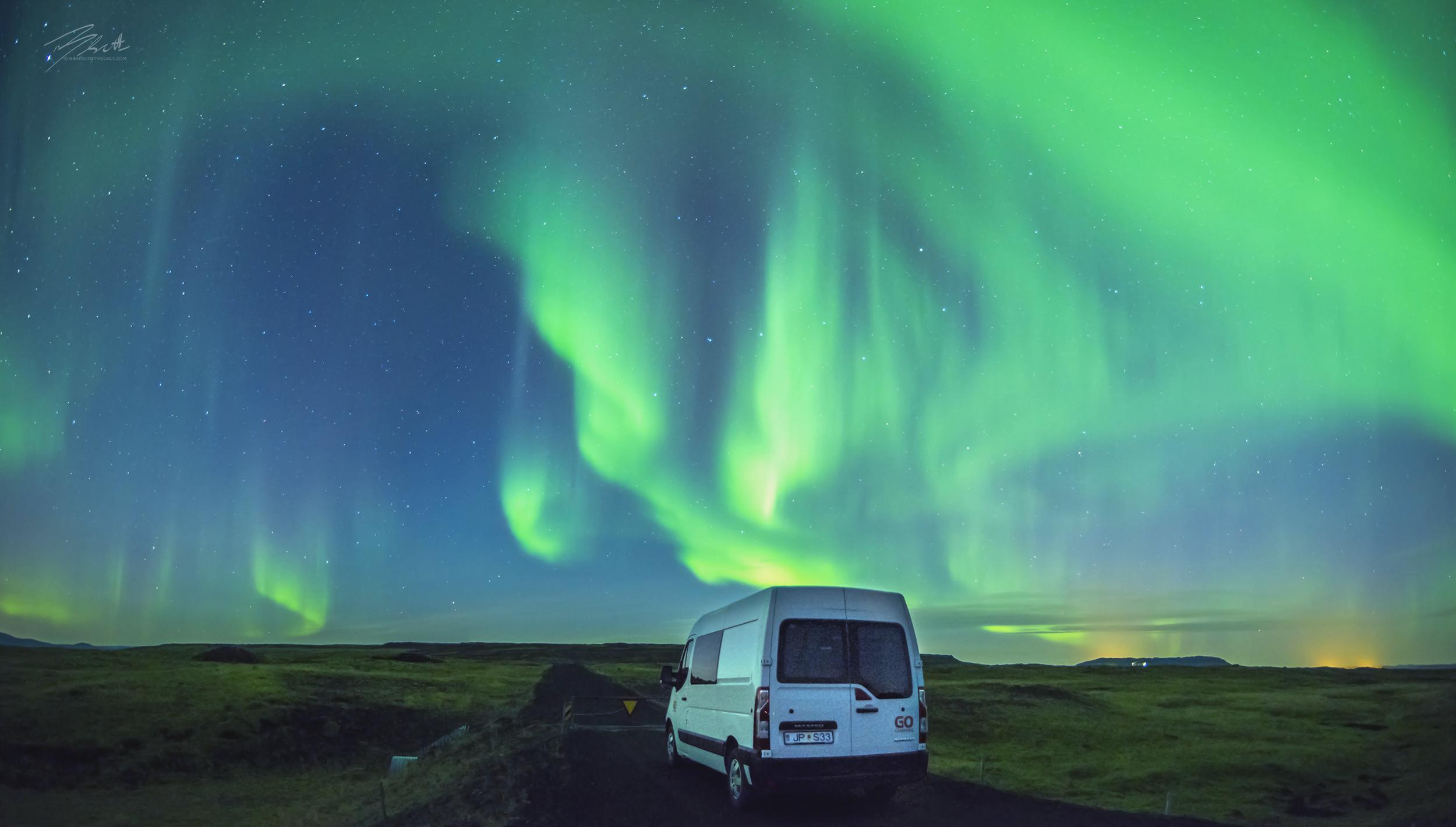 Gocampers Northern Lights