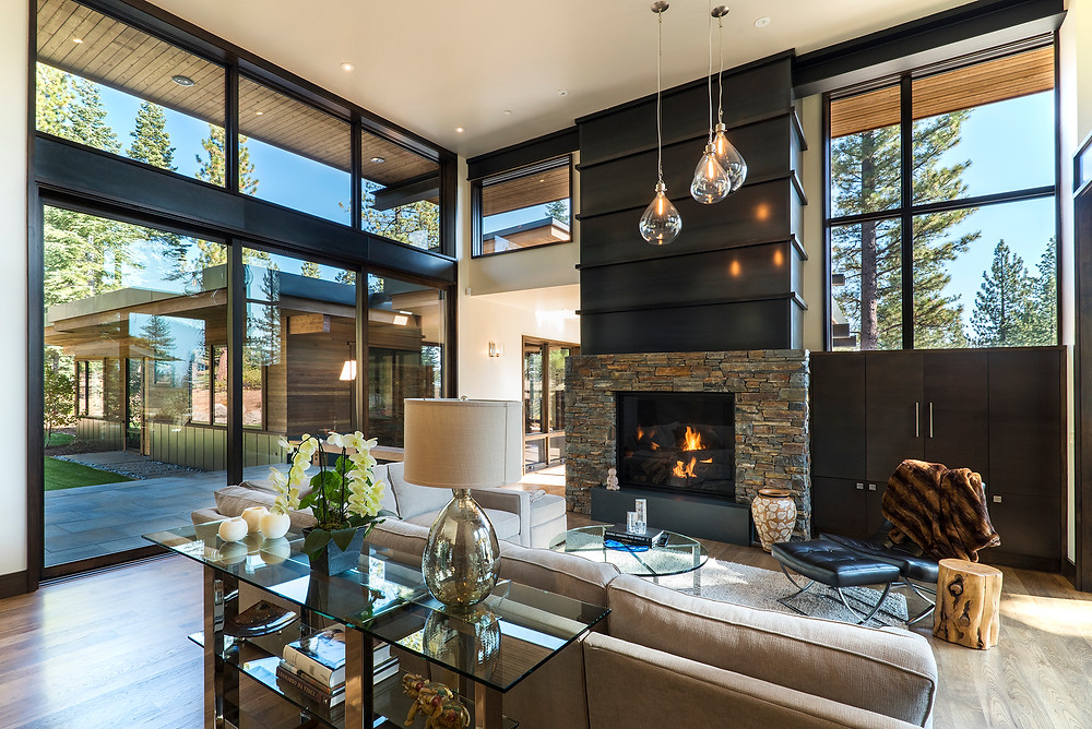 Interior image of a home in Martis Camp