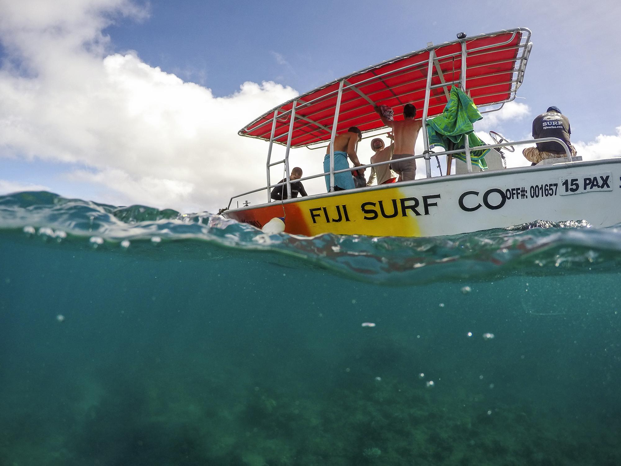 Fiji Surf Gopro Dome