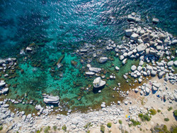 bonsai rock from above