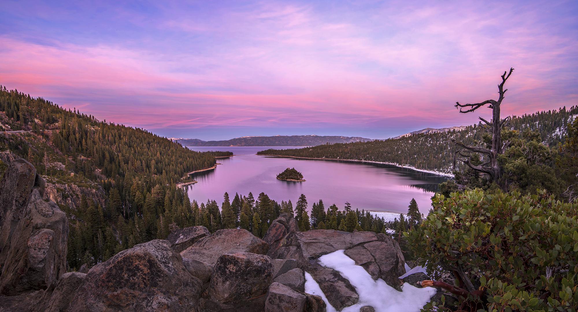 emerald bay sunset 11-18