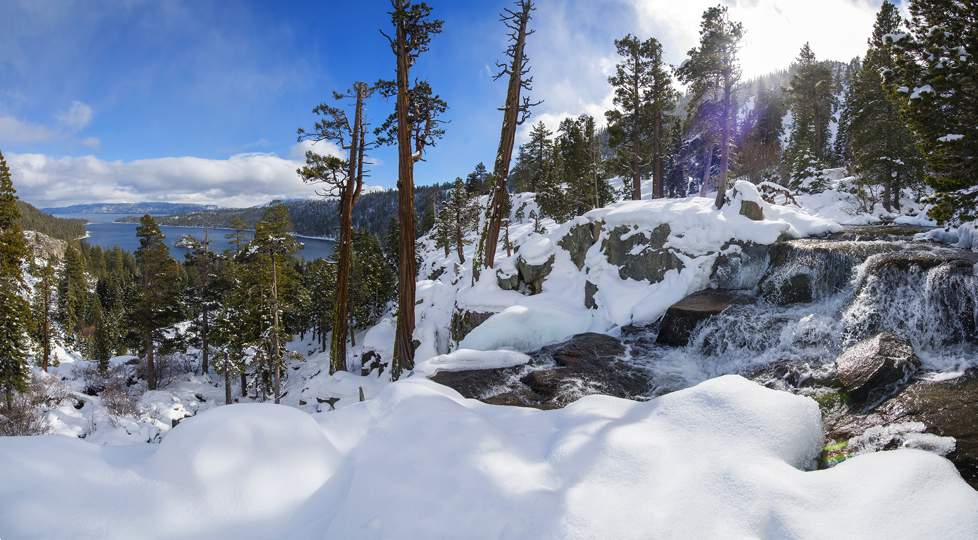 Emerald Bay Winter Wonderland