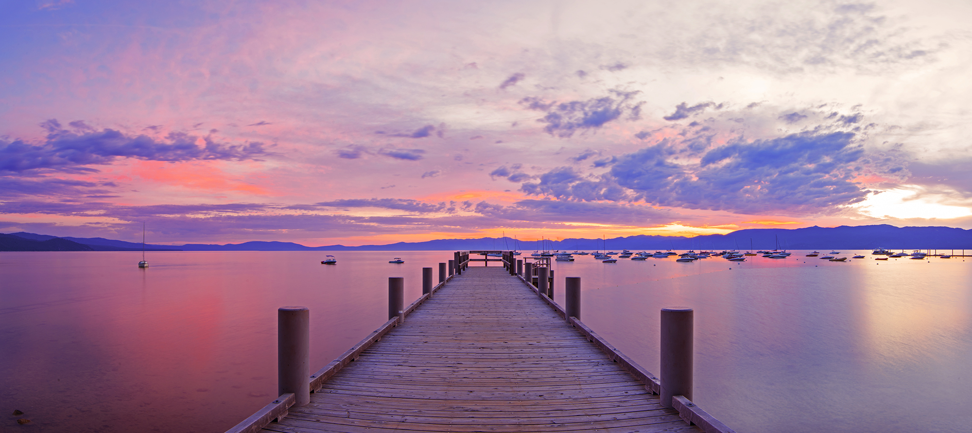 Morning Pier - Lake tahoe