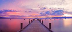 Morning Pier - Lake tahoe