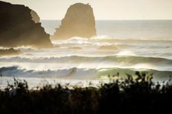 First view of Punta De Lobos