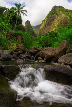 Iao valley falls
