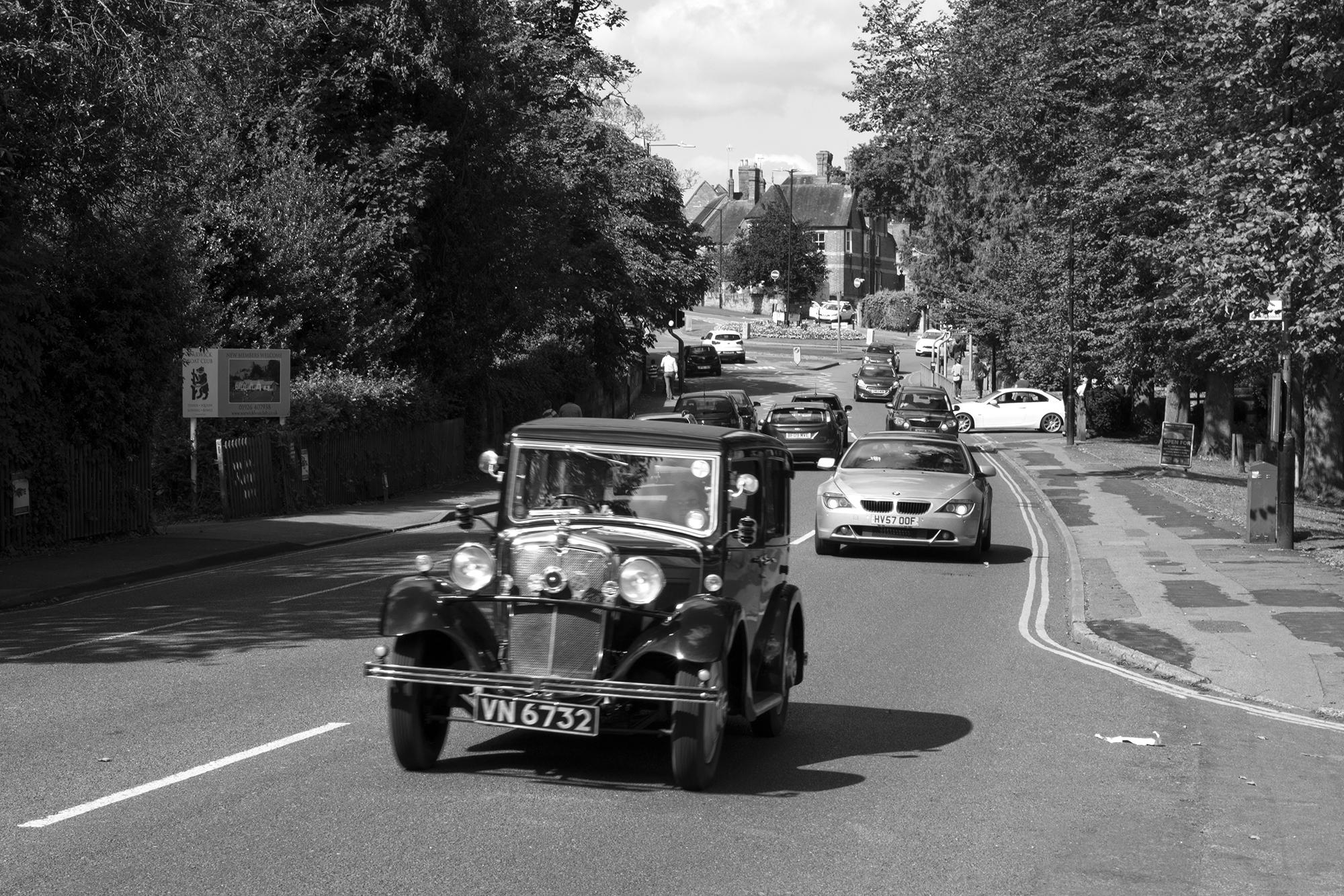 old car in warwick